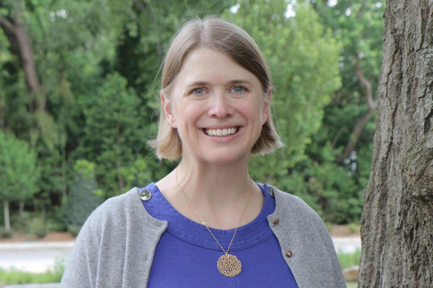 The Rev. Jenny Phillips supports United Methodist missionaries across the globe as the Senior Technical Advisor for Environmental Sustainability at Global Ministries. Photo by Anthony Trueheart.