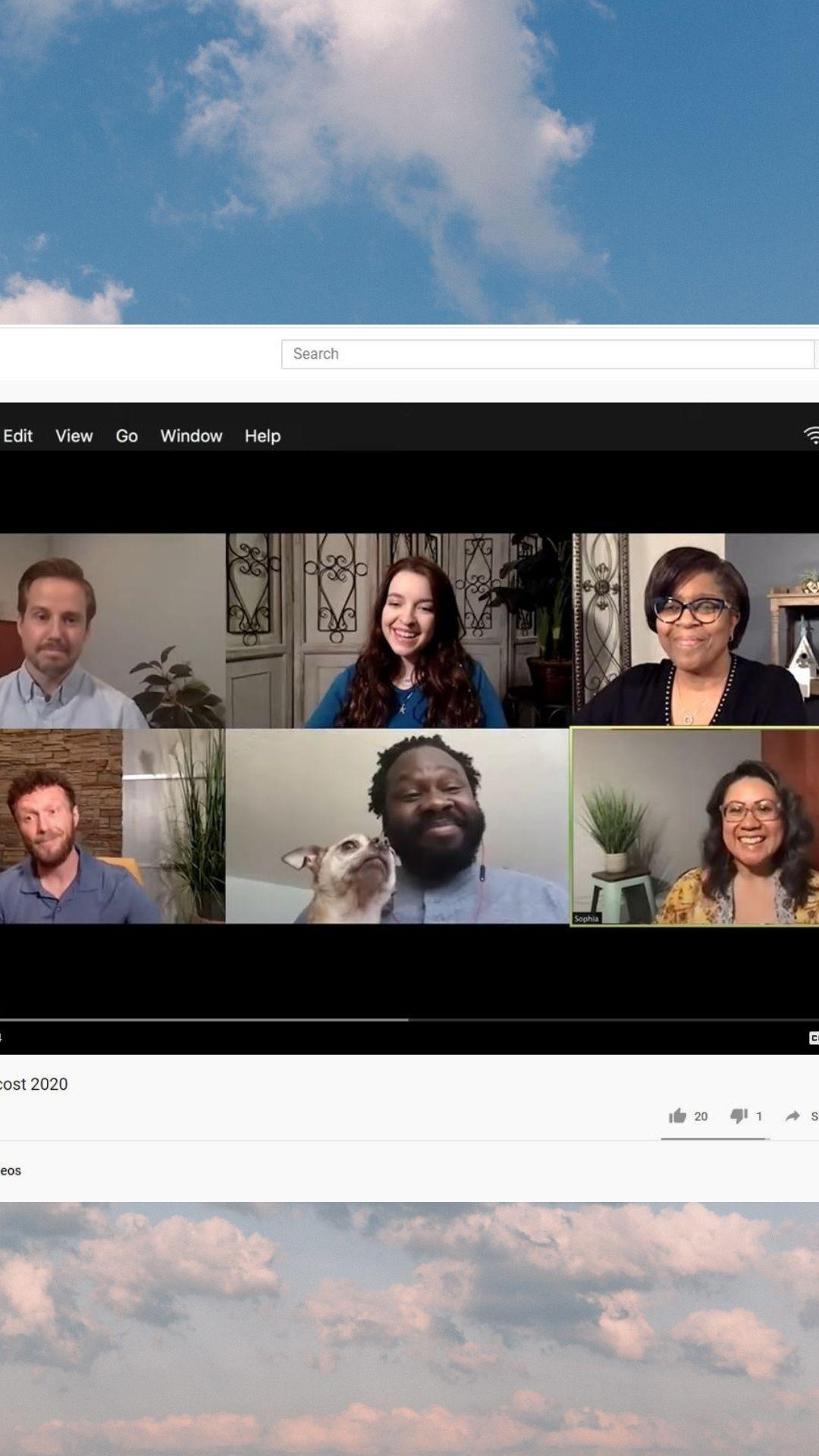 Pentecost 2020 zoom video image for UMC.org hero image