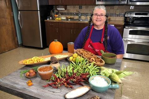Mary T. Newman shares Native American food preservation techniques