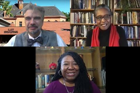 The UMC held a Dismantling Racism panel discussion on intersectionality. Screenshot of video by United Methodist Communications.