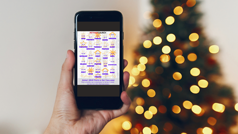 Download your copy of the Advent 2020 Photo Challenge Calendar