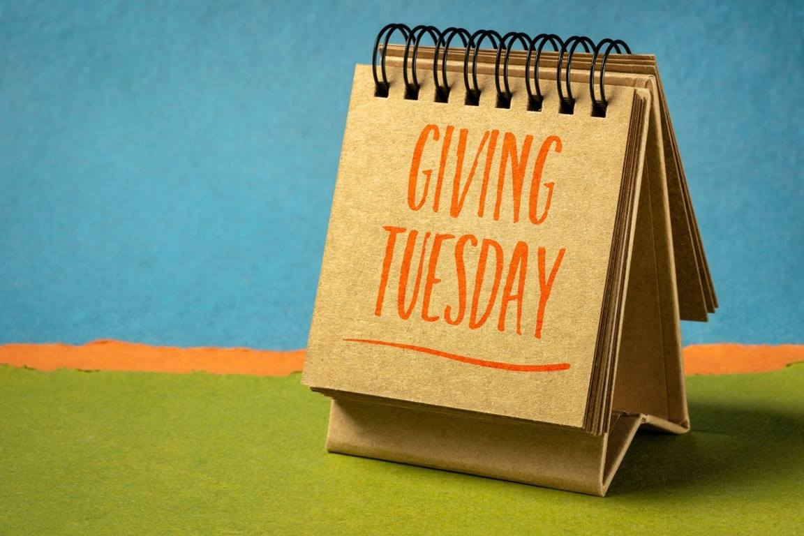 Giving Tuesday is December 1, a day when United Methodists are invited to share in God's mission through a variety of giving opportunities. Photo illustration by Canva.