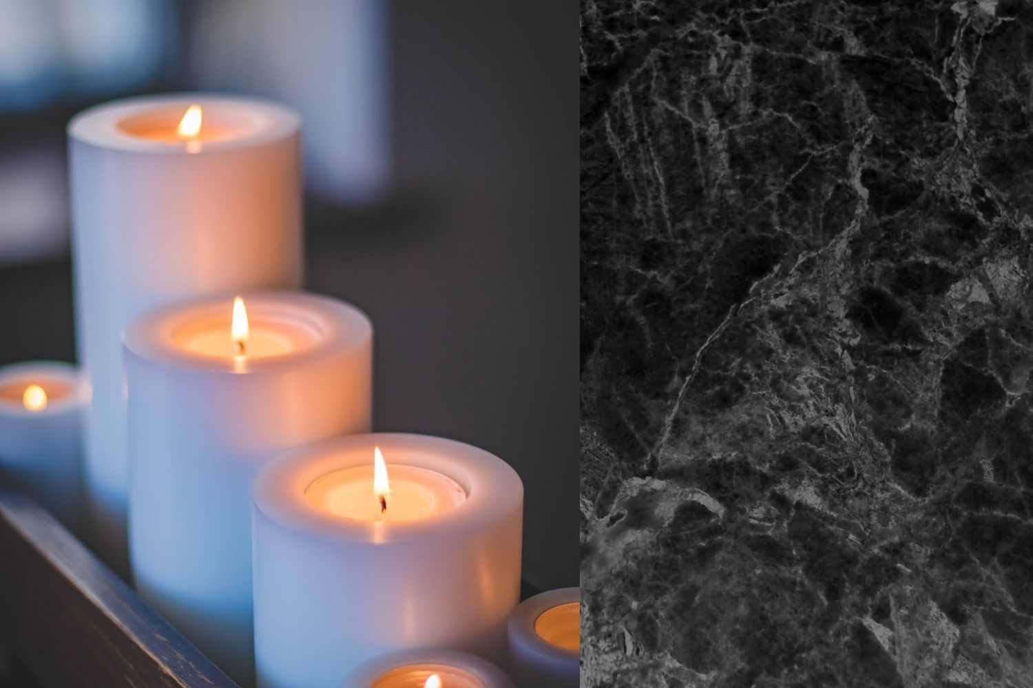 Candles image design by Canva