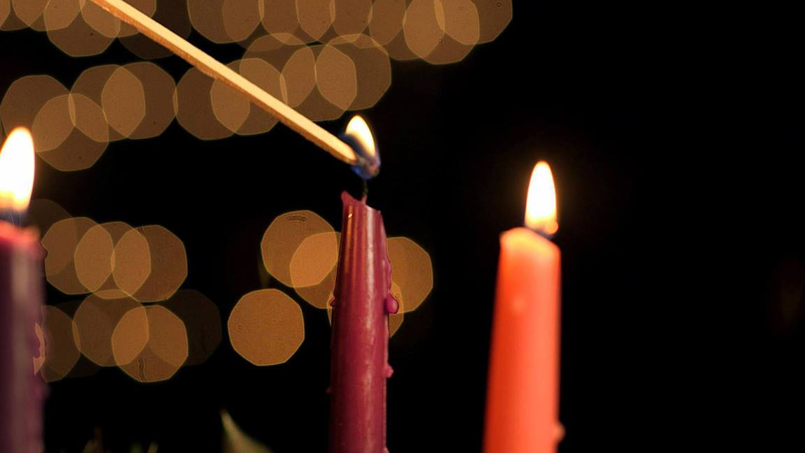 The Advent wreath reminds us of future expectations