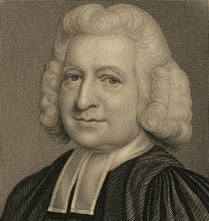 An undated engraving of Charles Wesley from the Perkins School of Theology at Southern Methodist University.