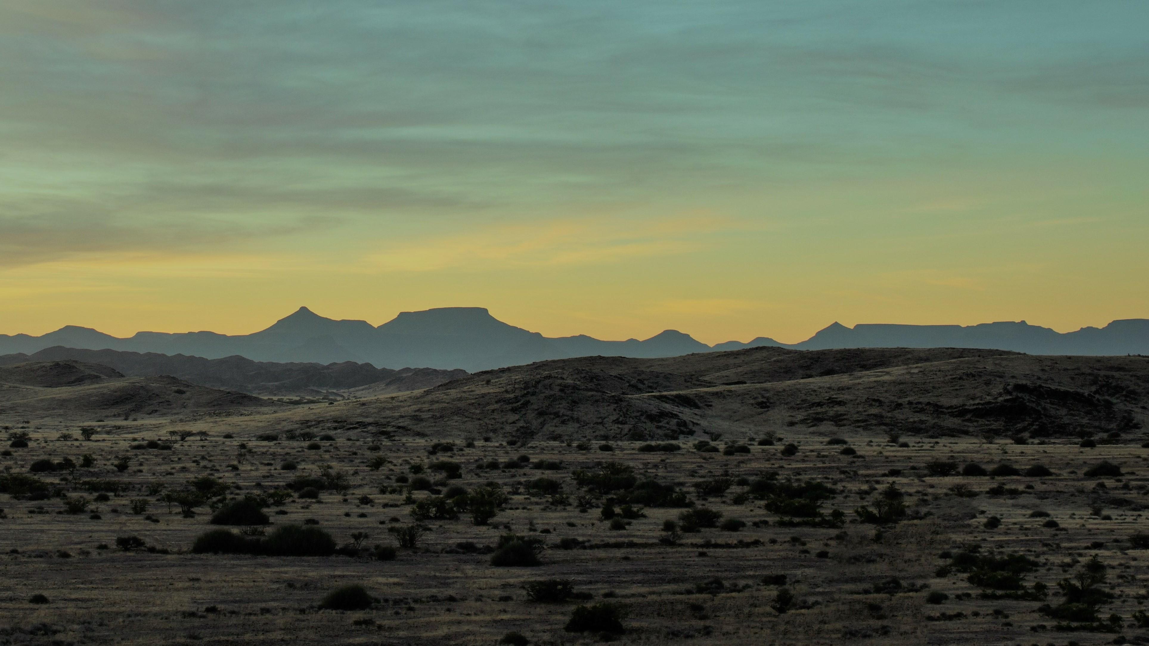 El desierto es una metáfora para un lugar de transición