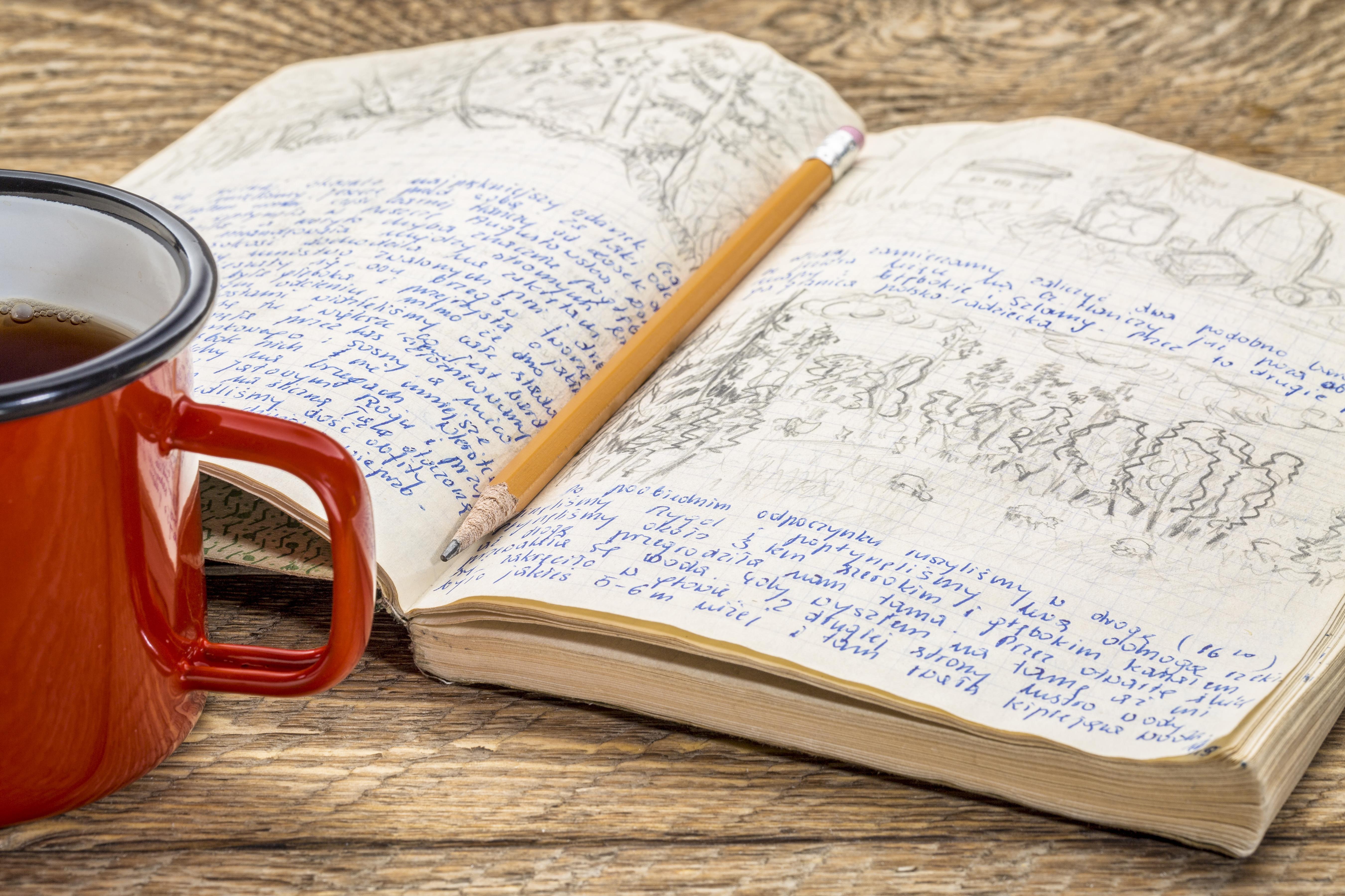 Para alimentar el alma reflexione y escriba un diario