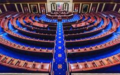 A view of the United States House of Representatives chamber at the U.S. Capitol in Washington, D.C. Photo courtesy of Wikimedia Commons.