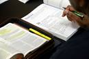 A new year is a good time to discover a new Bible study. Check out a variety of studies for online small groups or individuals. Photo by Greg Campbell for United Methodist Communications.