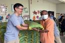 The Rev. Andrew Lee (left) has witnessed hardships related to the coronavirus while serving as a missionary in Cambodia, especially for the poor and marginalized. Lee has helped distribute a 10 kilogram-sack of rice, soaps, reusable masks and sanitize to those suffering hardship during the COVID pandemic. PHOTO: COURTESY OF THE REV. ANDREW LEE