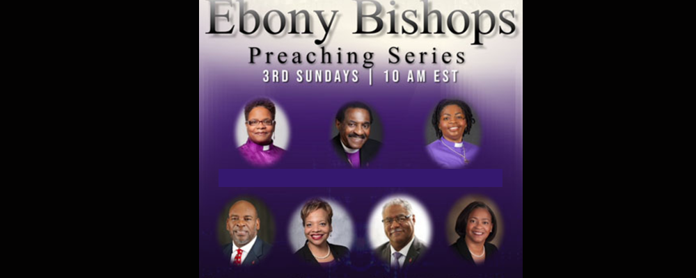 Top l-r: Bishops LaTrelle Easterling, Woodie W. White and Cynthia Moore-Koikoi. Bottom l-r Bishops Jonathan Holston, Tracy S. Malone, Julius Trimble and Sharma Lewis. Courtesy photo.