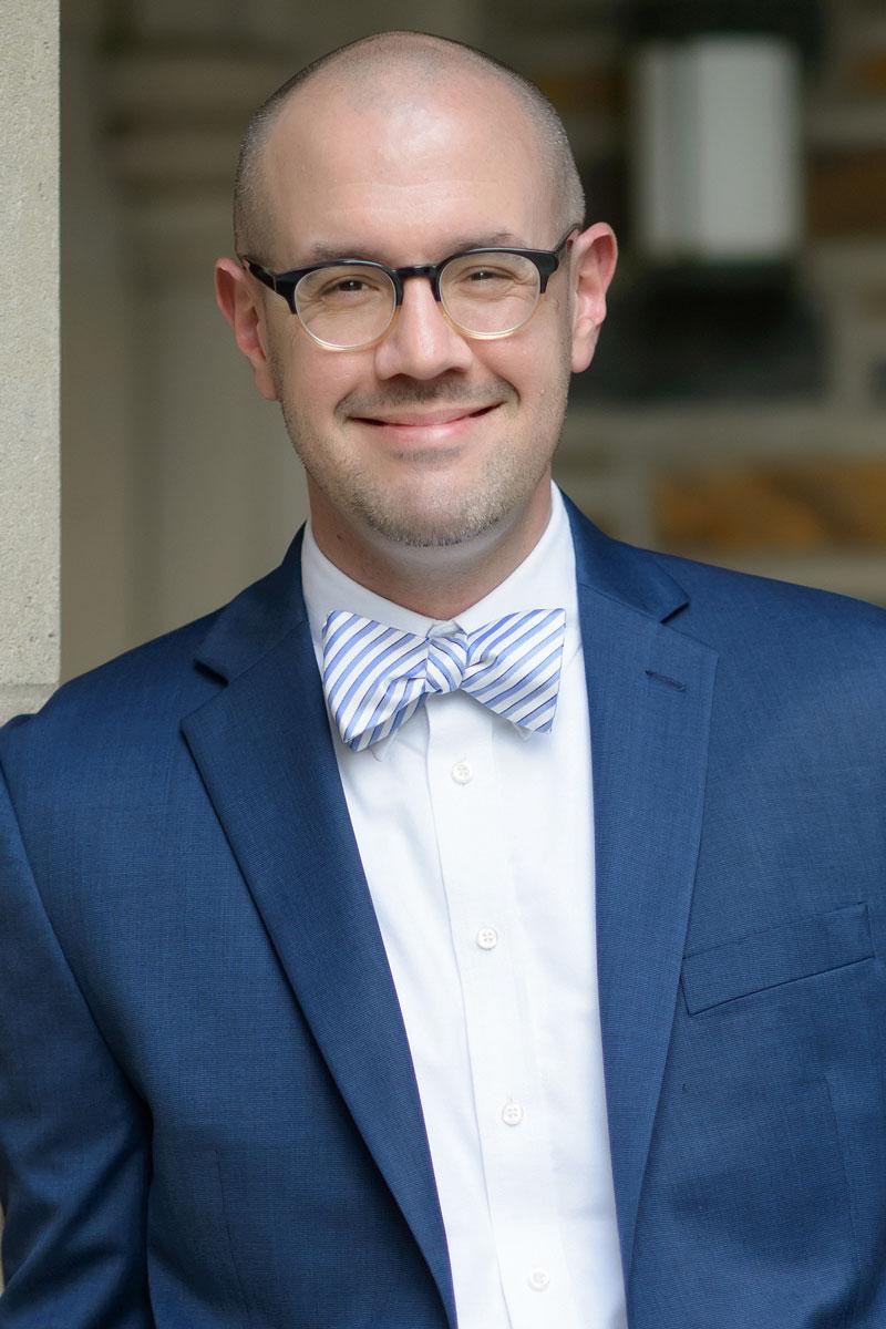 Zebulon M. Highben serves as director of Chapel Music at Duke University Chapel and associate professor at Duke Divinity School. Photo courtesy Zebulon Highben.