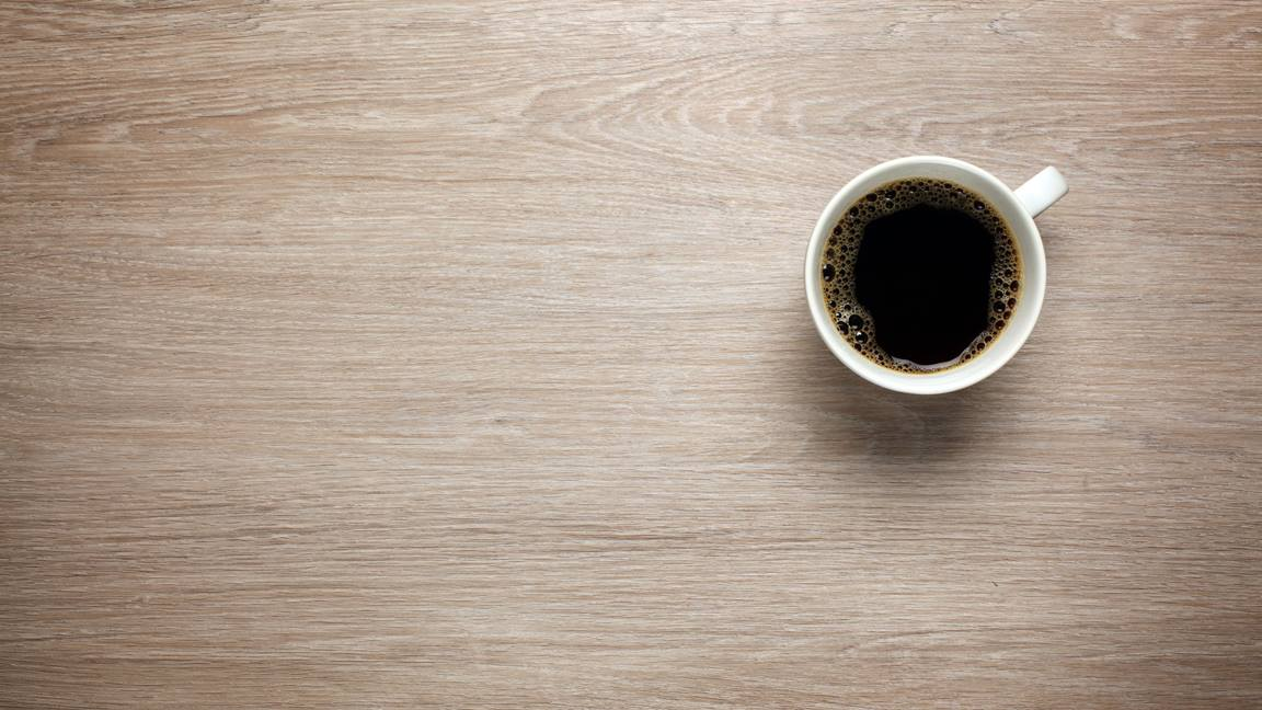 A cup of coffee can provide a God moment