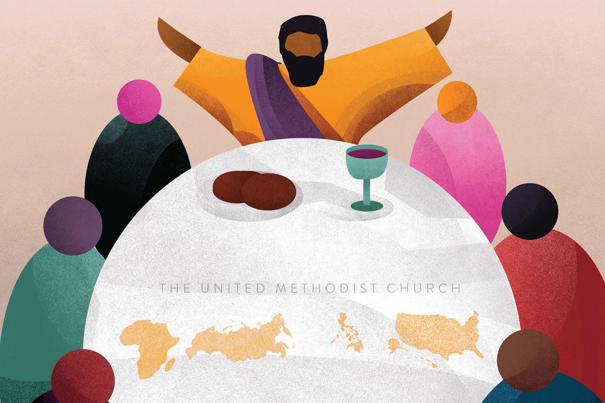 Un groupe international de délégués à la Conférence Générale a invité les Méthodistes Unis à réfléchir sur des nouvelles orientations de l'Église. En se basant en partie sur ces réactions, le groupe dévoile une nouvelle idée afin de faire de la place pour tous à la table de Dieu. Avec l'aimable autorisation de Out of Chaos Creation.