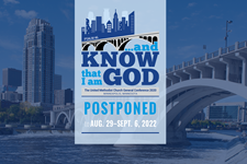 The General Comission on General Conference announced that the 2020 General Conference rescheduled for August of 2021 will be postponed to August 2022.