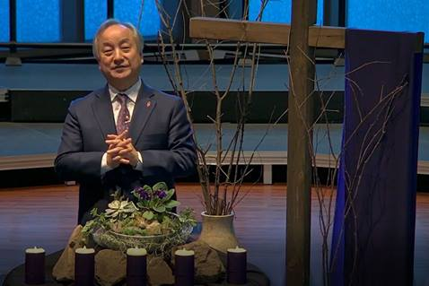 Bishop Hee-Soo Jung offers a devotion for Lent 2021.