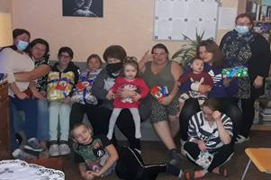 The Hope Center of Latvia, a home for unwed mothers and their children, is supported by Global Ministries of The United Methodist Church. Photo courtesy of The Hope Center.