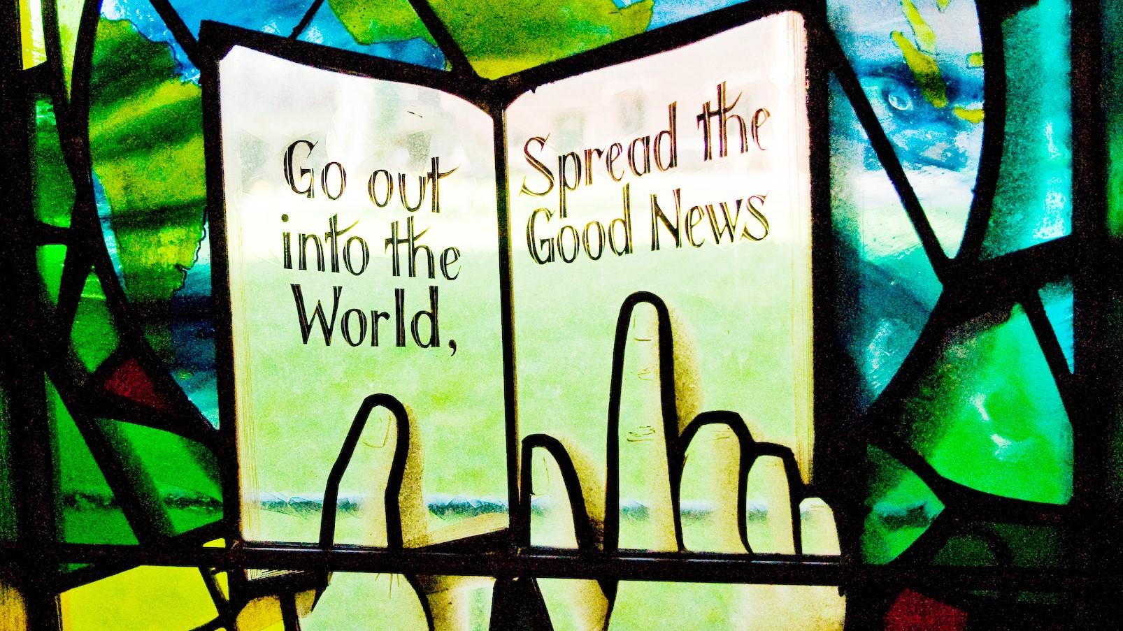 Como compartilhamos as boas notícias?