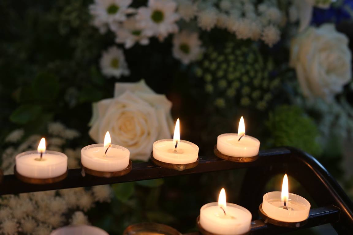 United Methodists pray for those who have died, commending them to God's mercy and care. Photo by Kathleen Barry, United Methodist Communications.