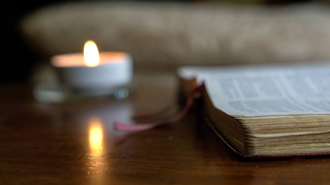 Quiet time for spiritual reflection is challenging for many.