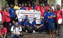 Central Congo UMC Health Board HIV-awareness training taught to students in UMC schools, who in turn teach fellow students, December 2019. Photo: Central Congo UMC Health Board.