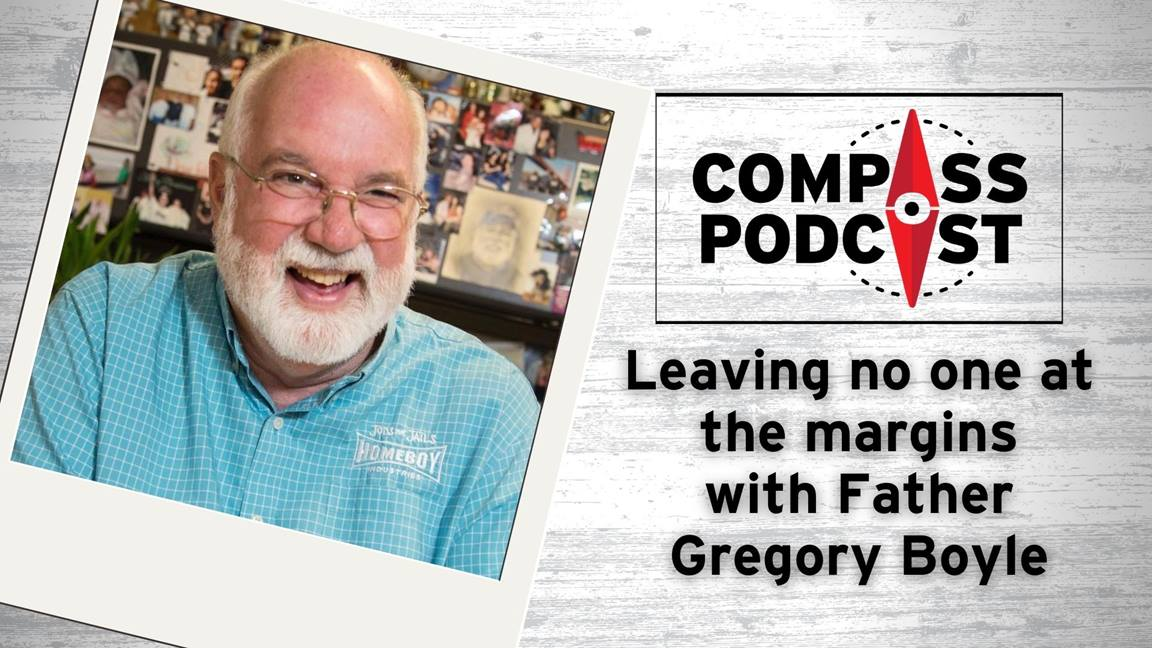 Father Gregory talks about disrupting the margins on the Compass Podcast