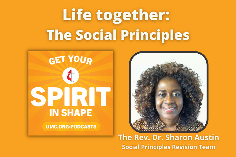 Sharon Austin was part of the Social Principles 2020 revision committee. Photo courtesy the Florida Conference.