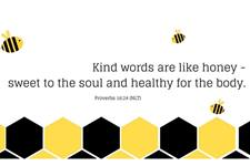 United Methodists find that beekeeping is a way to take care of God's creation as well as deepen their faith. Canva design by Stacey Hagewood, United Methodist Communications