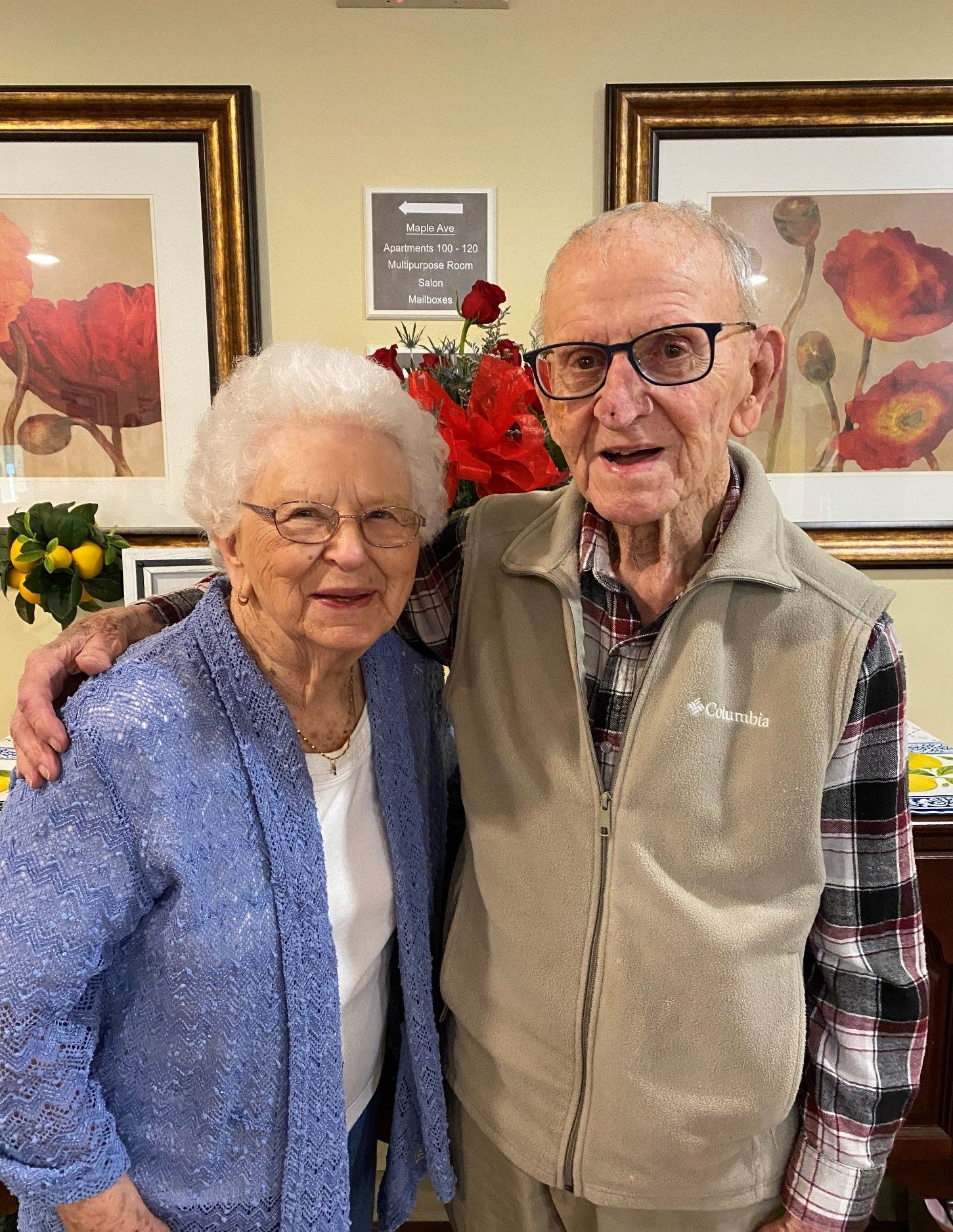 Wanda and Jack Southern, 93, will celebrate their 75th anniversary in 2021.