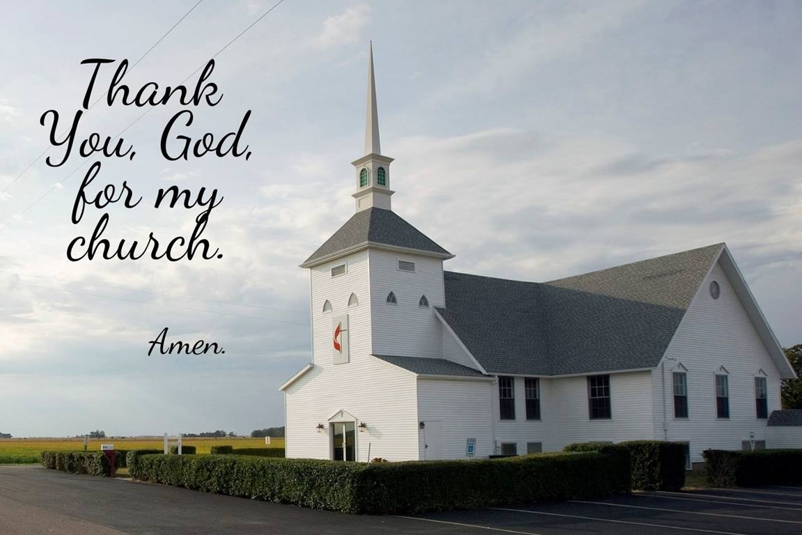 """In the June 2021 edition of """"Get Them Talking,"""" we thank God for our church and the connection we feel with one another. Photo of Oakdale United Methodist Church near Deshler, Ohio, by Mike DuBose, UMNS."""