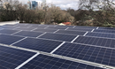 Solar array on the rooftop of Global Ministries' headquarters in Atlanta, GA. PHOTO: JENNY PHILLIPS