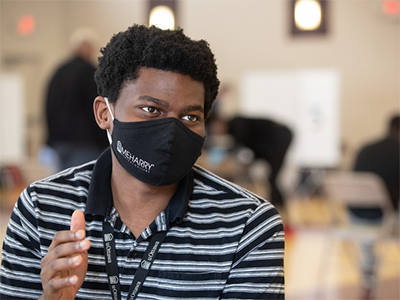 Joshua Ivare is a second-year medical student at Meharry Medical College in Nashville, Tenn. Photos by Mike DuBose