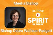 Bishop Debra Wallace-Padgett is our guest on a July 2021 episode of Get Your Spirit in Shape.