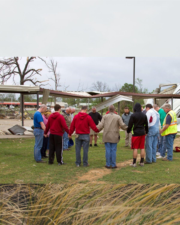 August 2021 UMC.org hero image of Arkansas tornado version 3