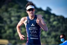 United Methodist Kevin McDowell competes in the 2021 Olympics in the Triathalon events.