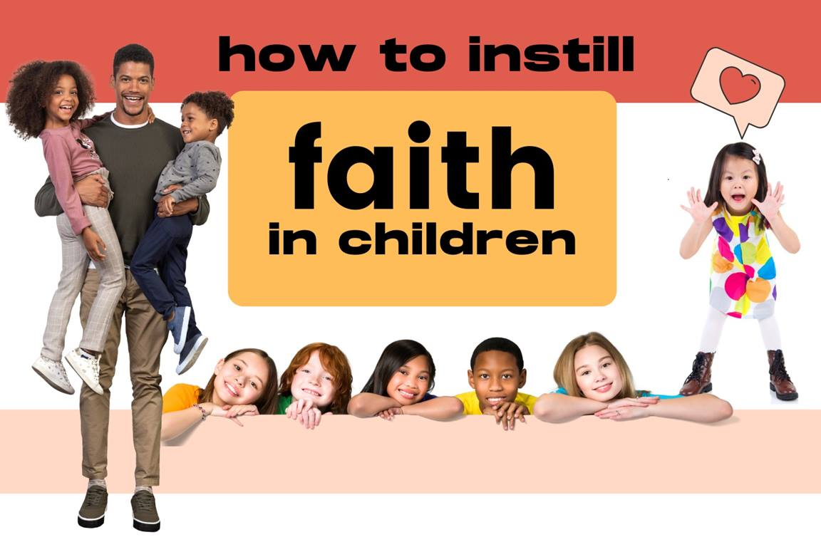United Methodist children's ministry leaders share tips for how to help the children we love build faith in their lives. Image design by Stacey Hagewood, United Methodist Communications