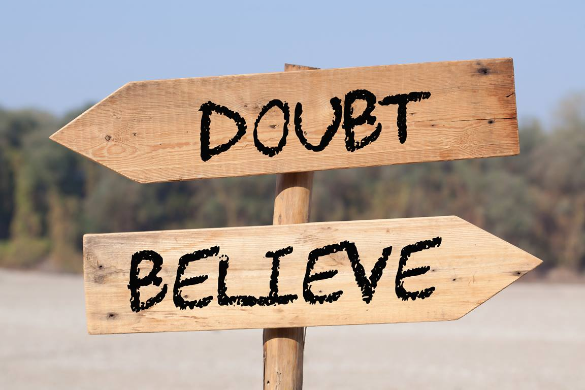 Is doubt the antithesis of belief? Or is it a path towards belief?