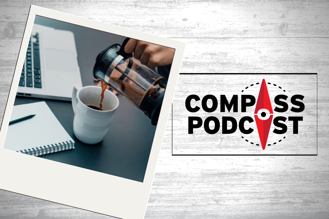 Douglas McKelvey discusses Every Moment Holy on the Compass Podcast