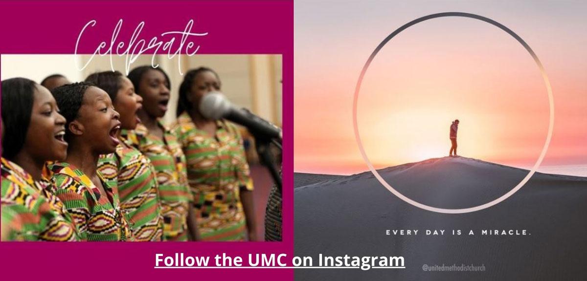 Follow The UMC on Instagram.