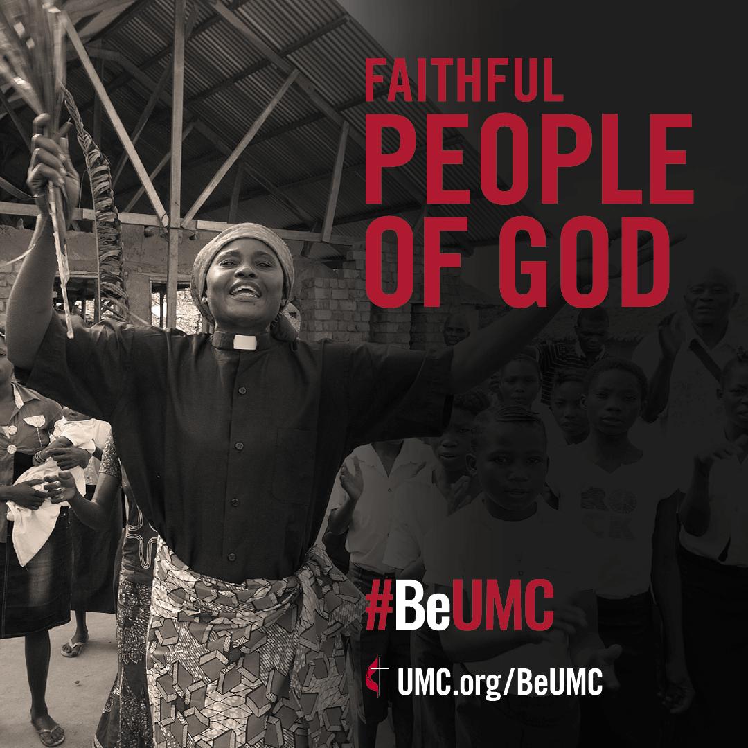 United Methodists are a faithful people of God.