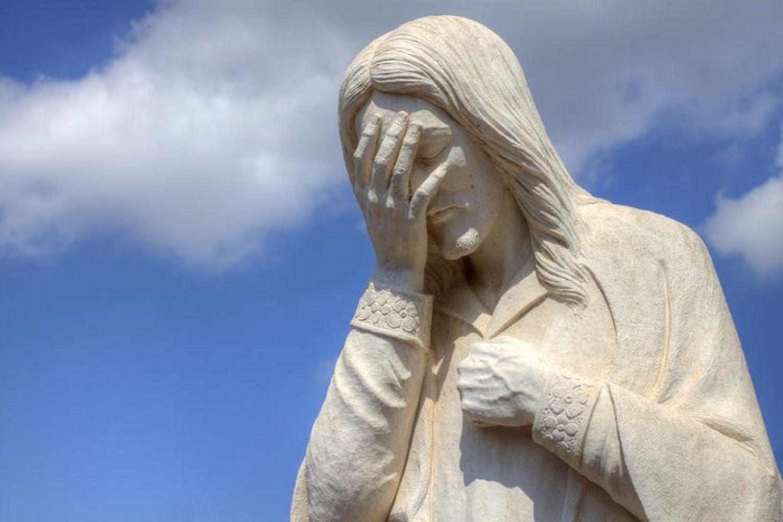 Bien que la société nous encourage à cacher nos larmes, pleurer nous aide à découvrir notre moi authentique et nous relie à Dieu. Et même Jésus pleura. Photo de Randy Barnard.