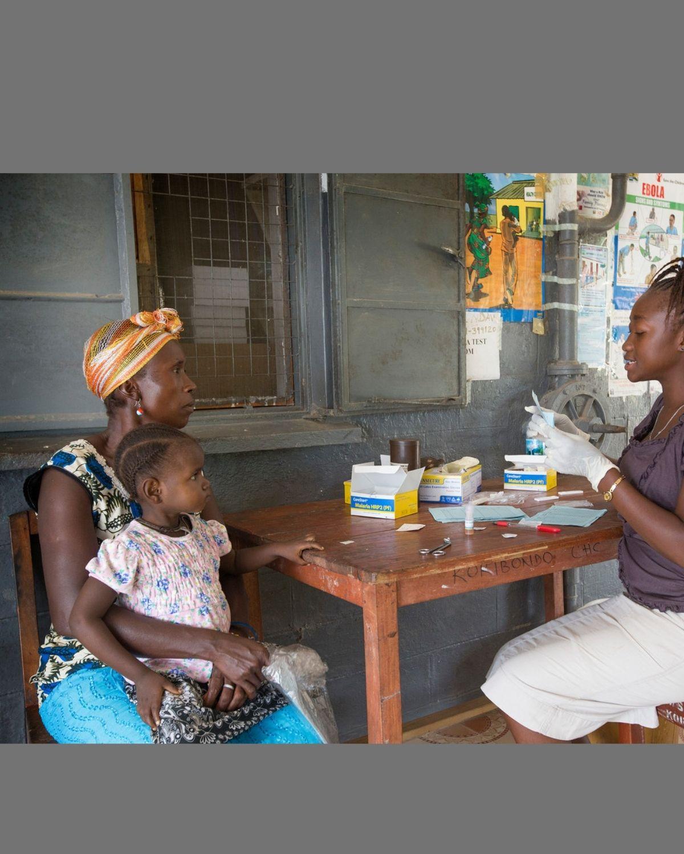 Sierra Leone malaria testing medium res 1200x1200 Canva design for UMC.org hero