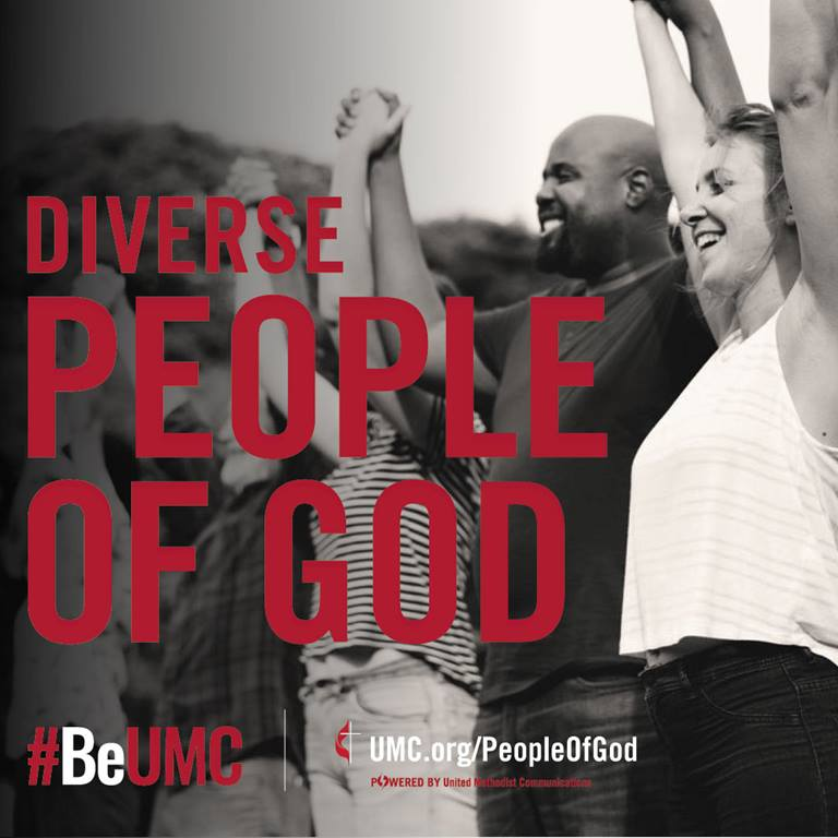 United Methodists are a diverse people of God. Image by United Methodist Communications.