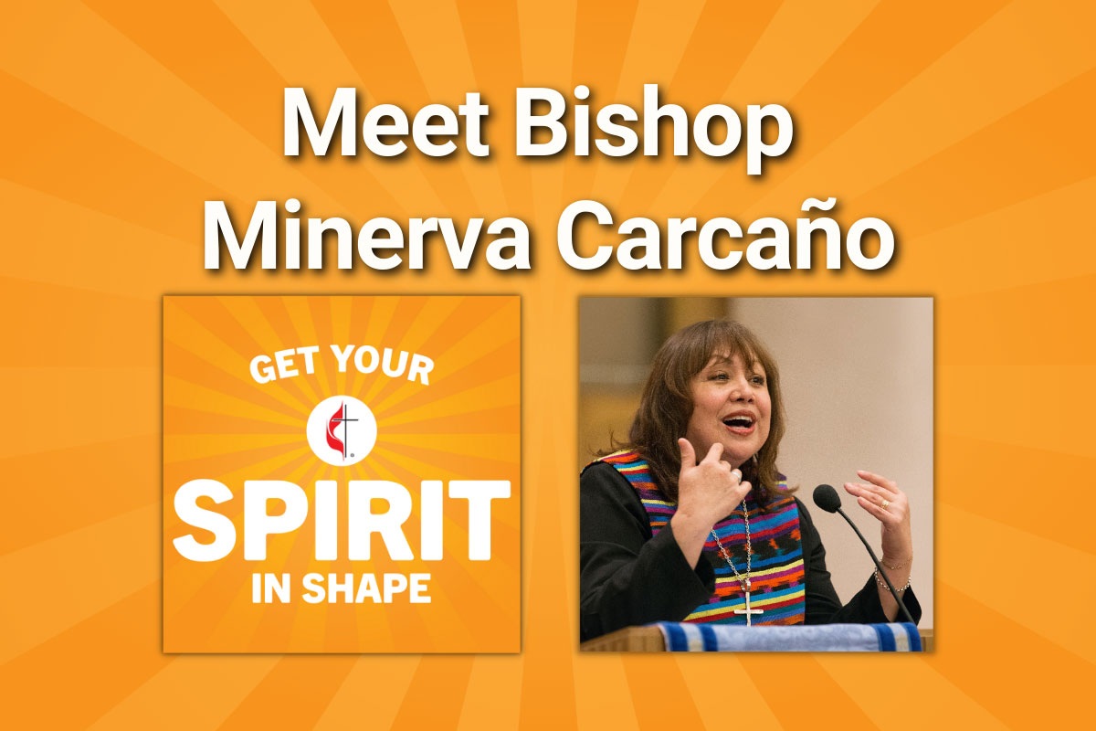 Meet the first Hispanic female elected bishop, who is a leader in social justice ministries. Photo by Mike DuBose, UMNS.