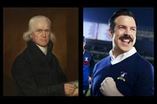 When second thoughts emerge, Francis Asbury, who embarked on his historic journey 250 years ago, and Ted Lasso, the main character of the popular Apple TV+ series, give insight into dealing with doubt.  Canva image by United Methodist Communications with photos from the National Portrait Gallery and Apple+ Press.