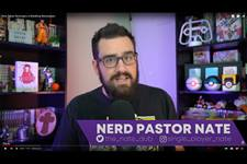 The Rev. Nathan Webb is pastor of Checkpoint Church, which was designed to be exclusively virtual. The church utilizes social media platforms Twitch, Discord and YouTube to build community. Screenshot courtesy of Checkpoint Church via YouTube.
