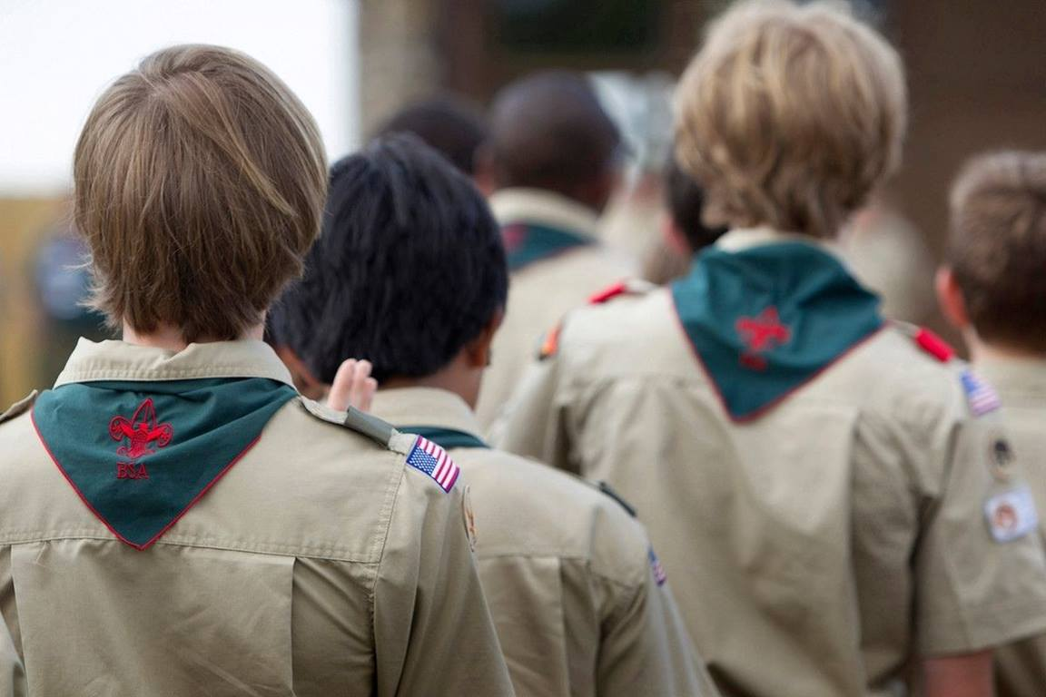 Scouts attending a previous Boy Scouts of America event. (File photo by Mike DuBose, UM News.)
