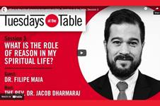 """Dr. Jacob Dharmaraj is the guest on the October 19, 2021, episode of """"Tuesdays at the Table"""""""